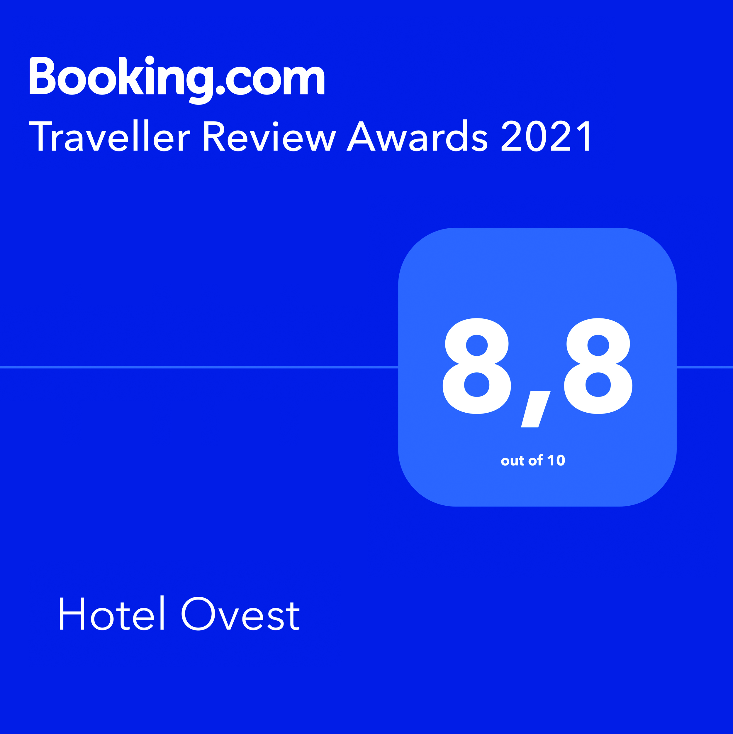 Booking - Hotel Ovest