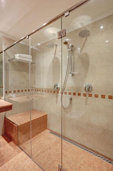 Doccia con doppio soffione termosifoni in ghisa scheda tecnica - Soffione della doccia ...